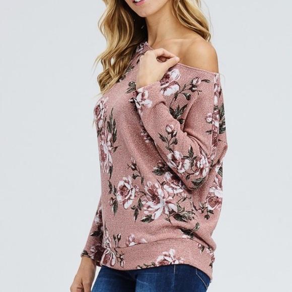 dceff37fbbc794 Floral one sided off shoulder knit top( LAST ONE ). Boutique.  M 5b7b9fca1070eef8cb8f88bc. M 5b7b9fe69264af0d7f37ee7e.  M 5b7ba006f414521f8bc18d37